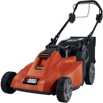 This mower will push it self, the ultimate in garden care