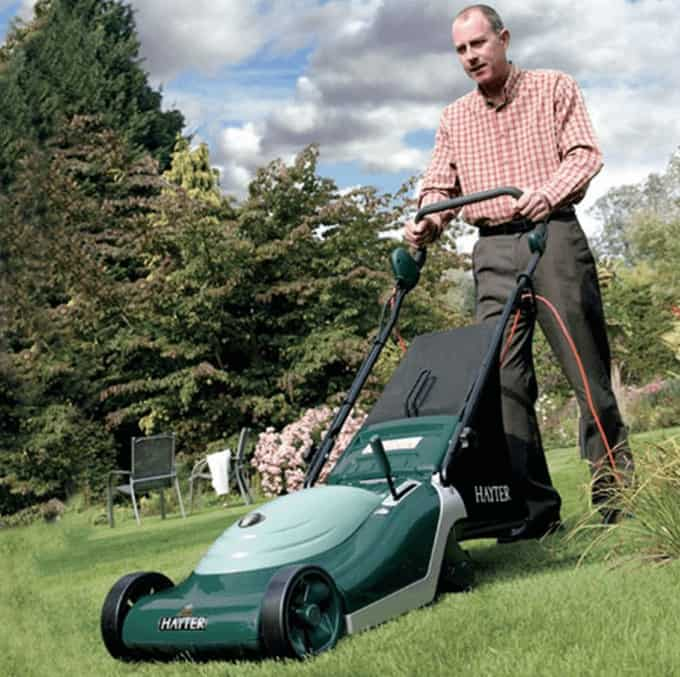 plenty of power for the standard lawn
