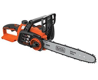 BLACK+DECKER LCS1240 40V MAX Lithium-Ion Chainsaw, 12