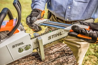 Chainsaw sharpening tips