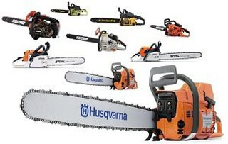 Different types of chainsaw