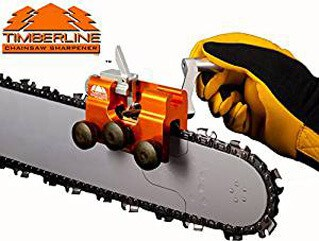 Timberline Chainsaw Sharpener with 3-16 Carbide Cutter Carbide Cutter (for .325 pitch chains)