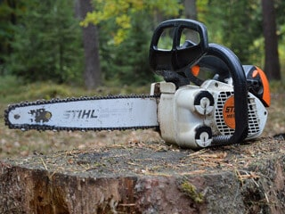 heavy duty work chainsaw