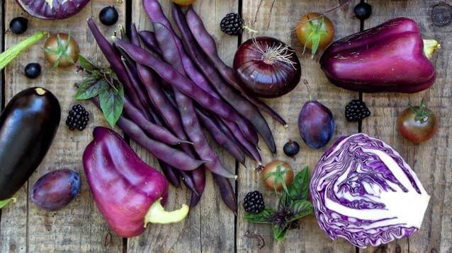 Purple Vegetables to Grow