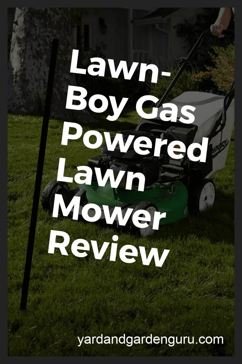 lawn boy self propelled lawn mower