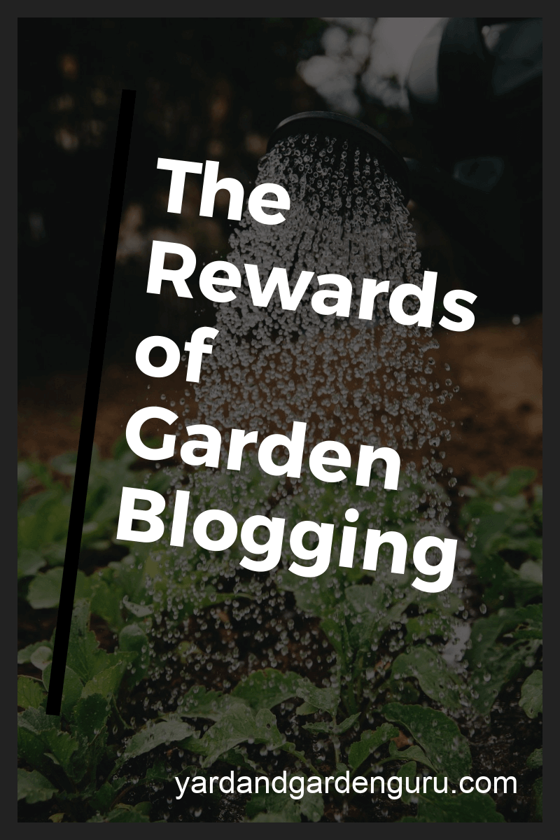 garden blogging tips