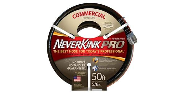 Teknor Apex Neverkink, 8844-50 PRO Water Hose,5-8-in x 50-feet