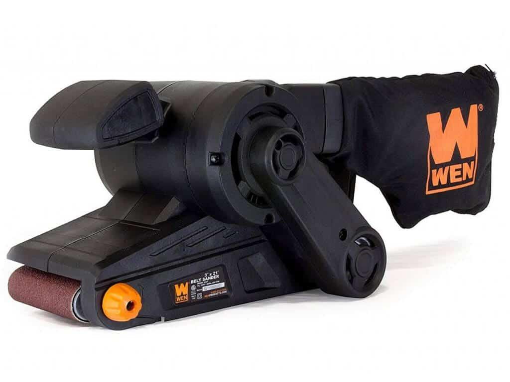 WEN 6321 7-Amp 3 in. x 21 in. Corded Belt Sander with Dust Bag