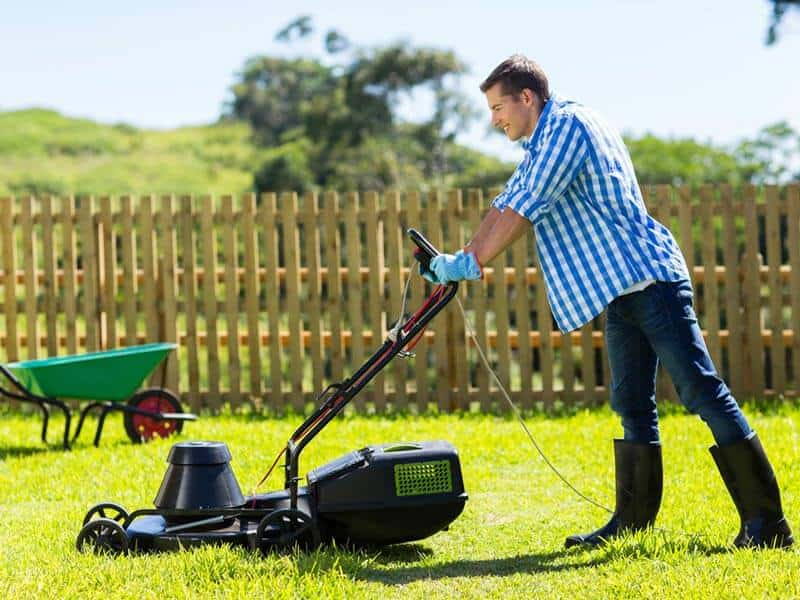 tips in mowing the lawn