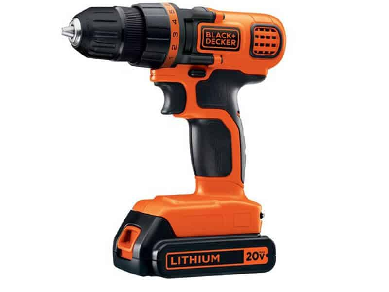 BLACK+DECKER LDX120C 20V MAX Lithium Ion Drill Driver