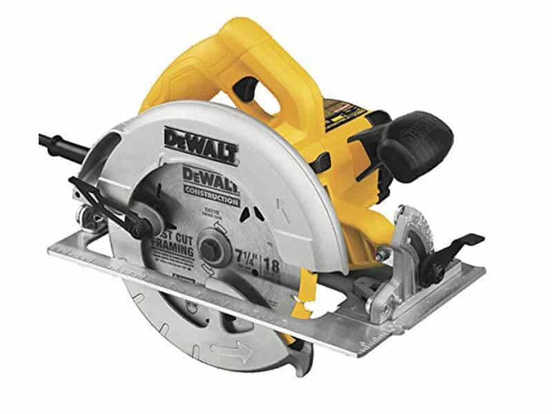 DEWALT DWE575SB 7-1-4-Inch Lightweight Circular Saw with Electric Brake