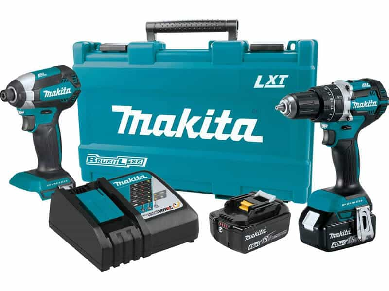 Makita XT269M 18V LXT Lithium-Ion Brushless Cordless 2-Pc. Combo Kit