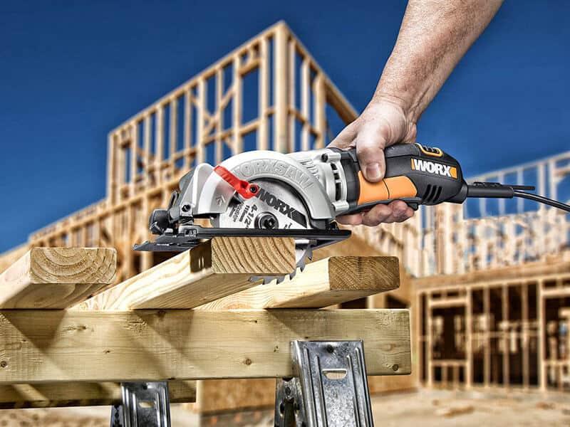 WORX WORXSAW 4-12 Compact Circular Saw – WX429L for Best Circular Saw