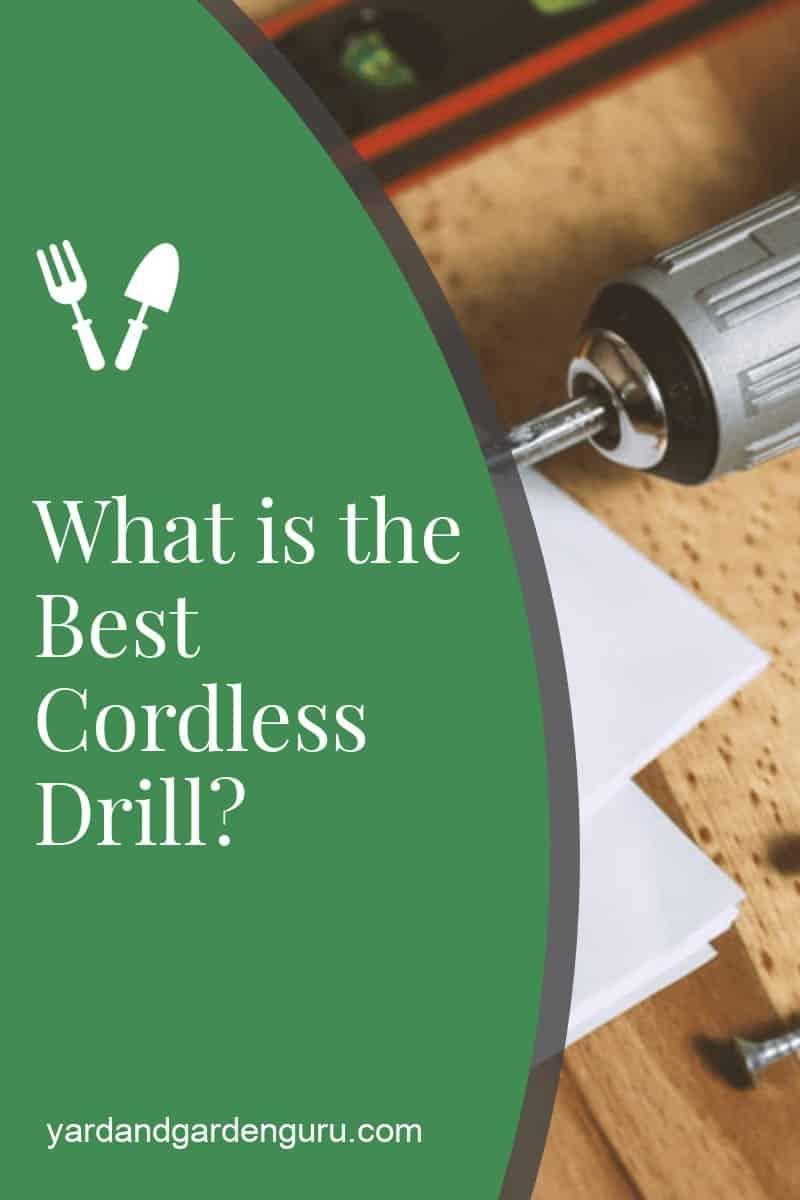 Best Cordless Drills