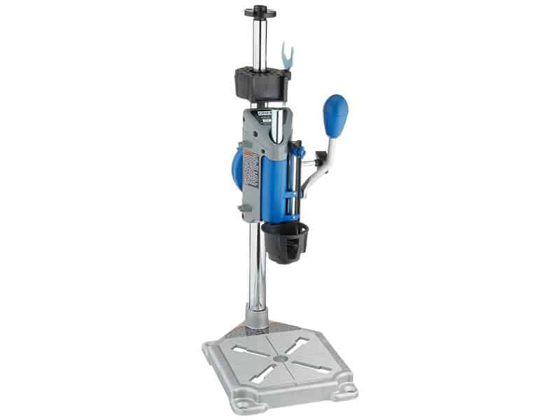 Dremel Drill Press Rotary Tool Workstation Stand with Wrench- 220-01- Mini Portable Drill Press- Tool Holder- 2-inch Drill Depth