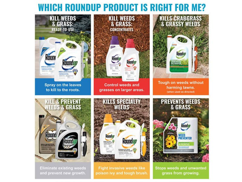 Roundup for your Lawn