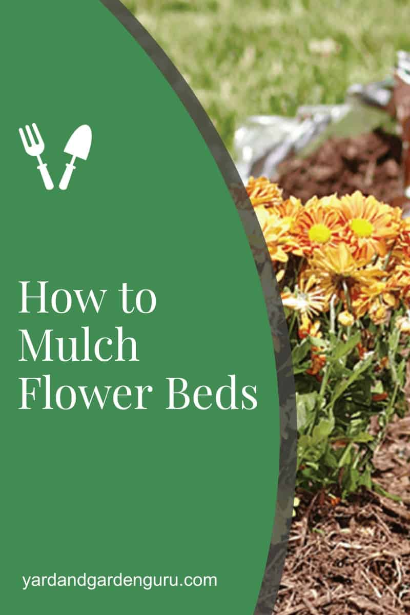 How to Mulch Flower Beds