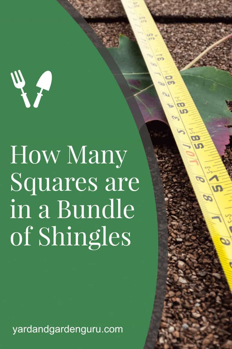 How Many Squares are in a Bundle of Shingles