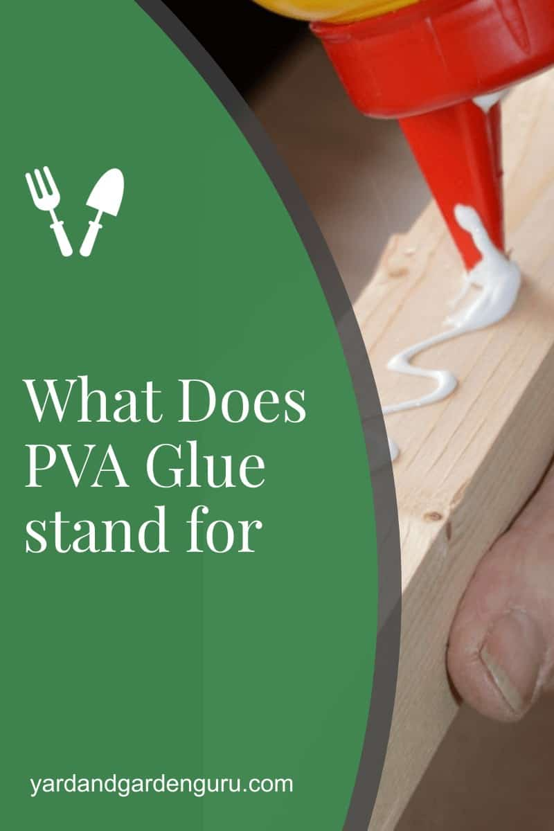 What Does PVA Glue stand for