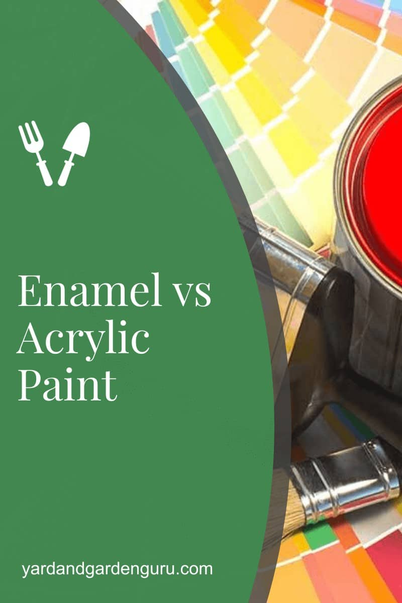 Enamel vs Acrylic Paint