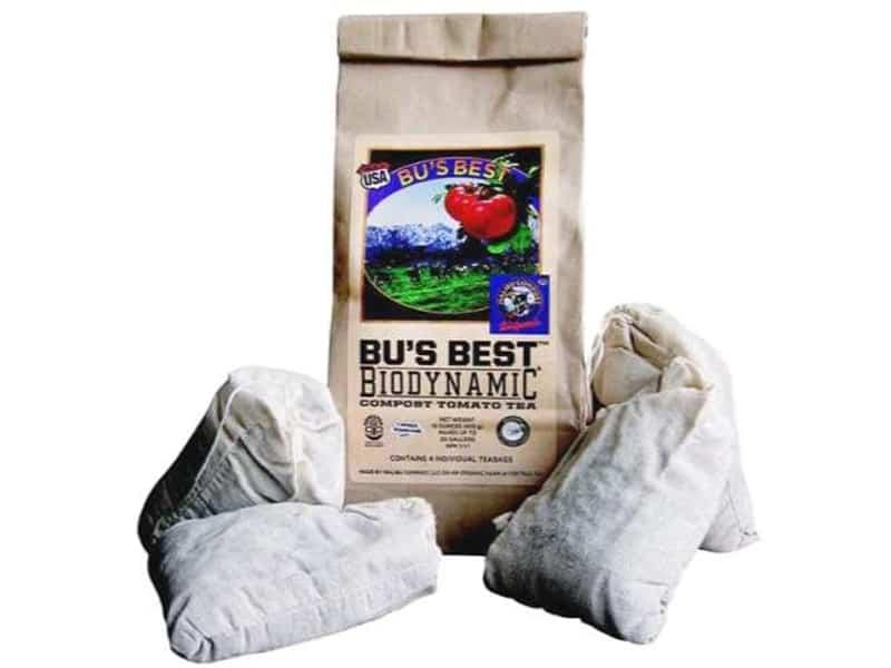 Bu's Brew Biodynamic Compost Tomato Tea (1ea= 4Pack)