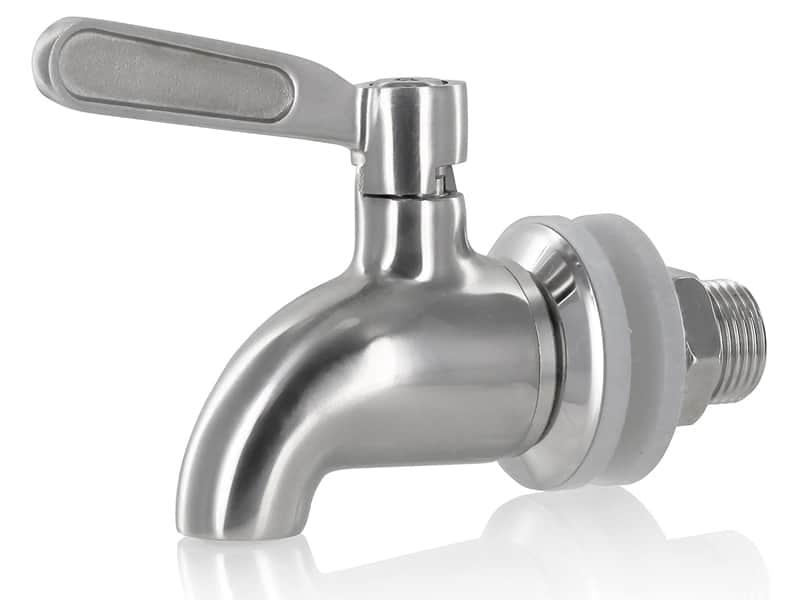 Estilo Beverage Dispenser Replacement Spigot Stainless Steel,Single