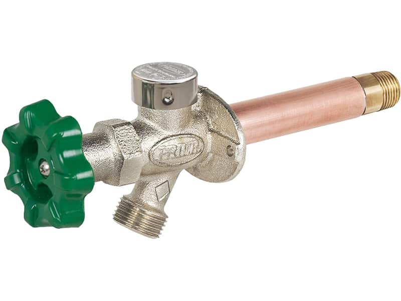 Prier P-164D14 Quarter-Turn Frost Free Anti-Siphon Outdoor Hydrant, 14-Inch