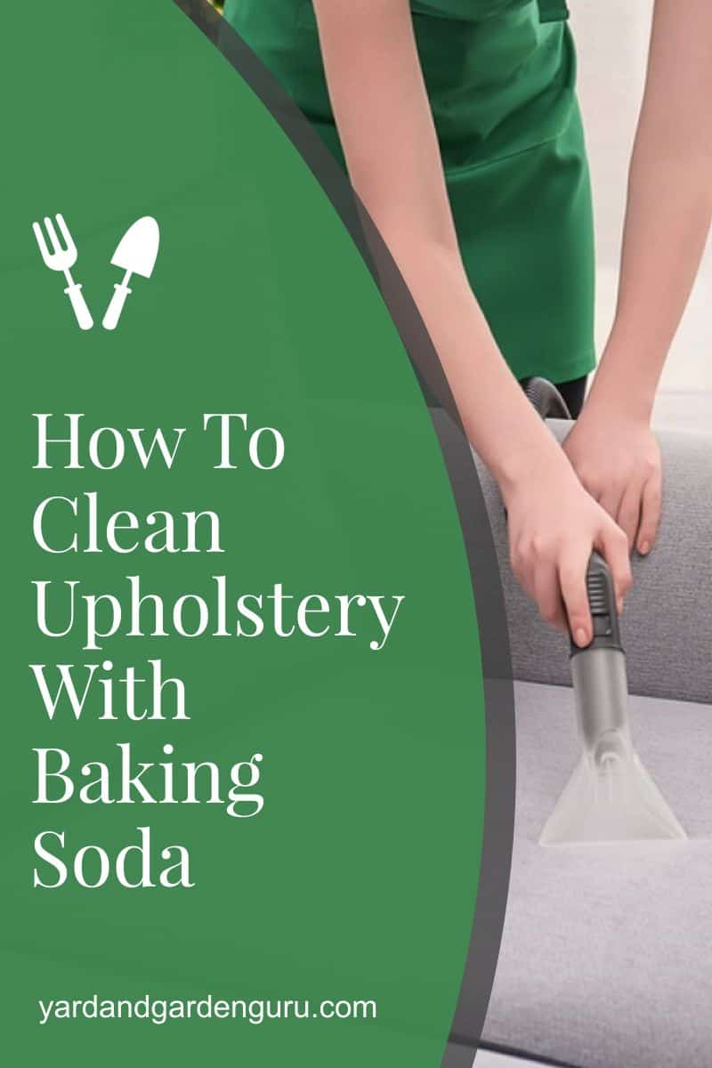 How To Clean Upholstery With Baking Soda