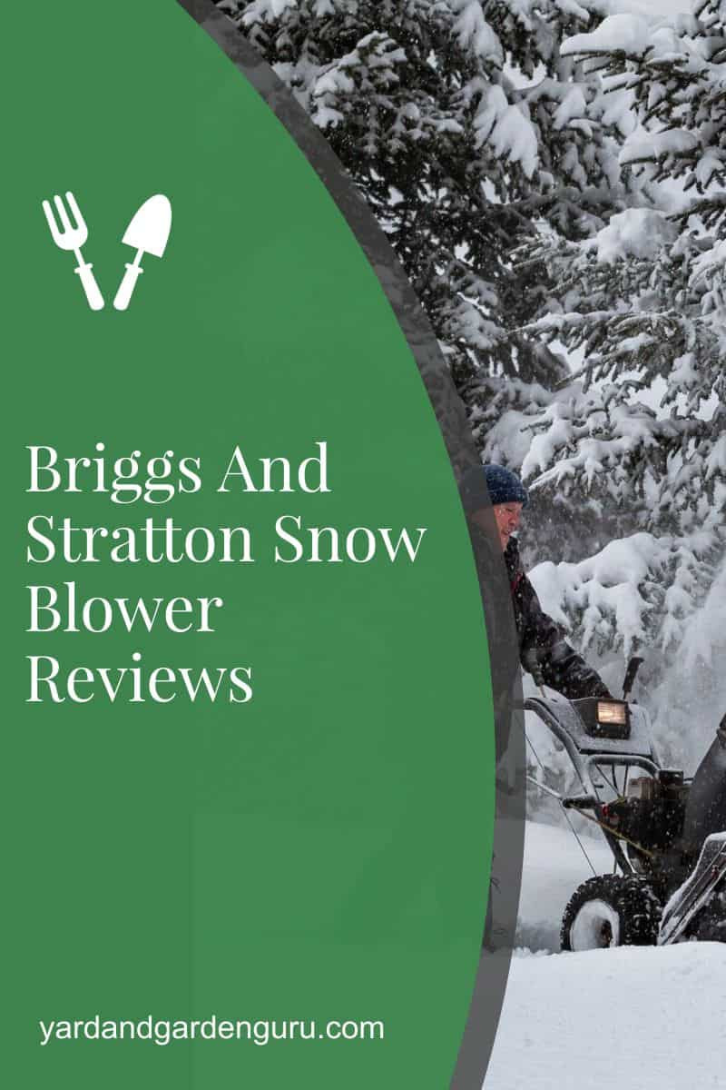 Briggs And Stratton Snow Blower Reviews