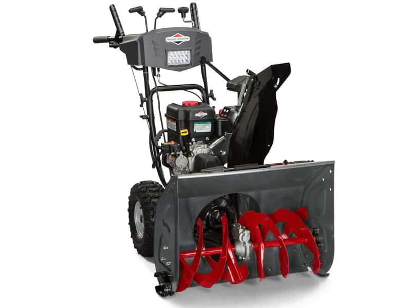 Briggs & Stratton S1227 Standard Series 27-Inch Dual-Stage Snow Blower with Push Button Electric Start and Free Hand Control