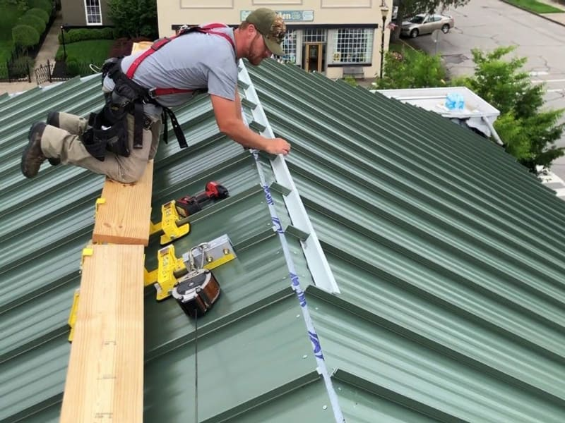 Guide in Installing a Metal Roof