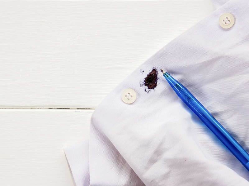 Hacks to Remove Ink Stains from Clothing