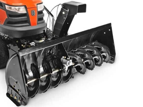 Husqvarna 581 34 57-01 Tractor Mount Two-Stage Snow Blower with 50 Clearing Width