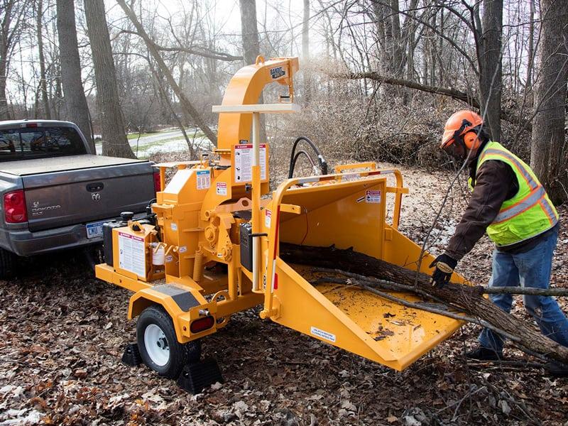 Renting a Wood Chipper