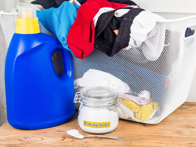 Baking Soda In Laundry
