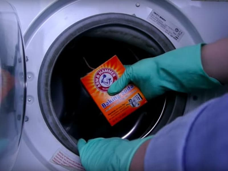 Baking Soda In Washing Machine