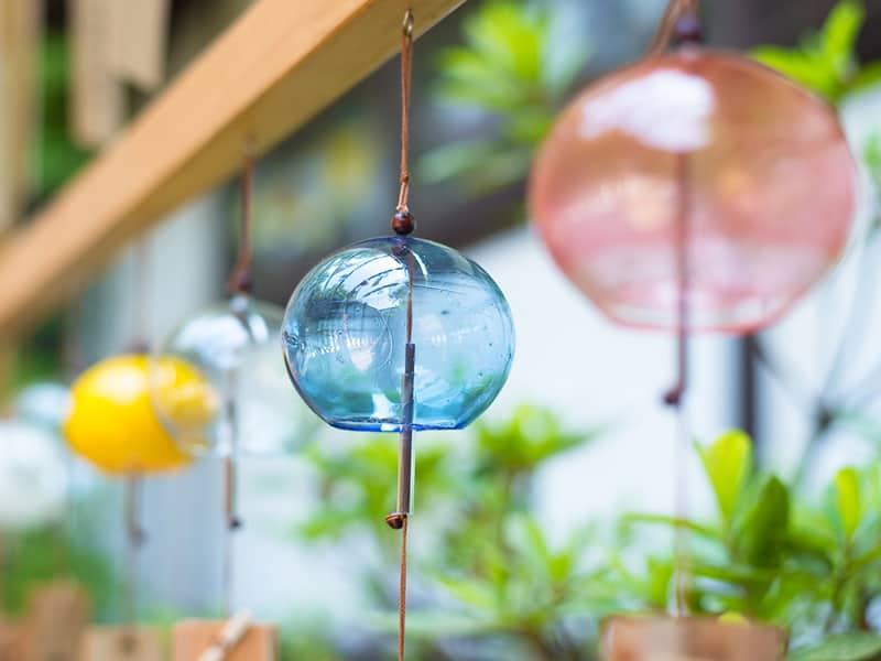 Wind Chimes to Stop Birds from Flying into Window