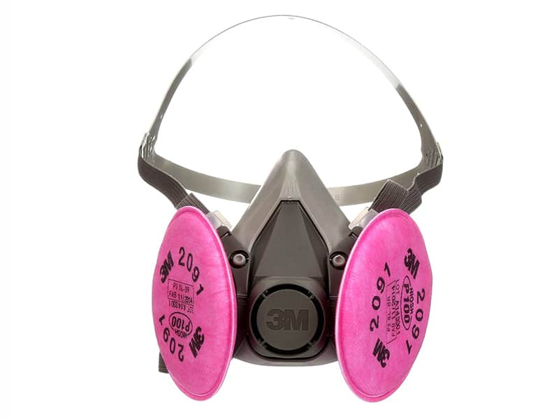Best Best Respirator for Woodworking 3M(TM) Half Facepiece Respirator Assembly 6291 07002(AAD)