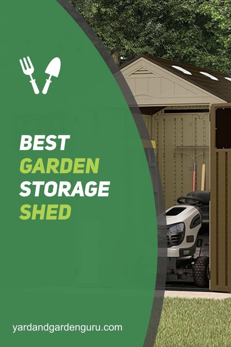 Best Garden Storage Shed