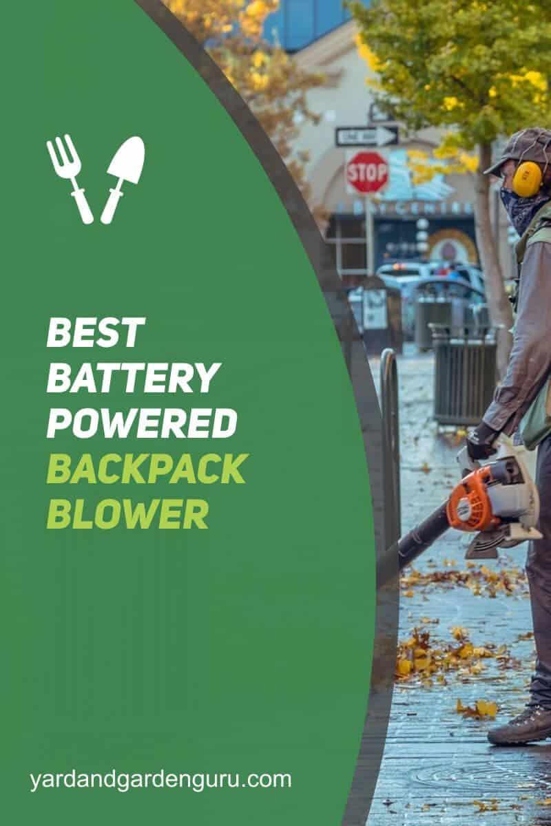 Best Battery Powered Backpack Blower
