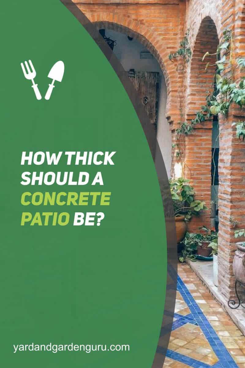 How Thick Should A Concrete Patio Be (1)