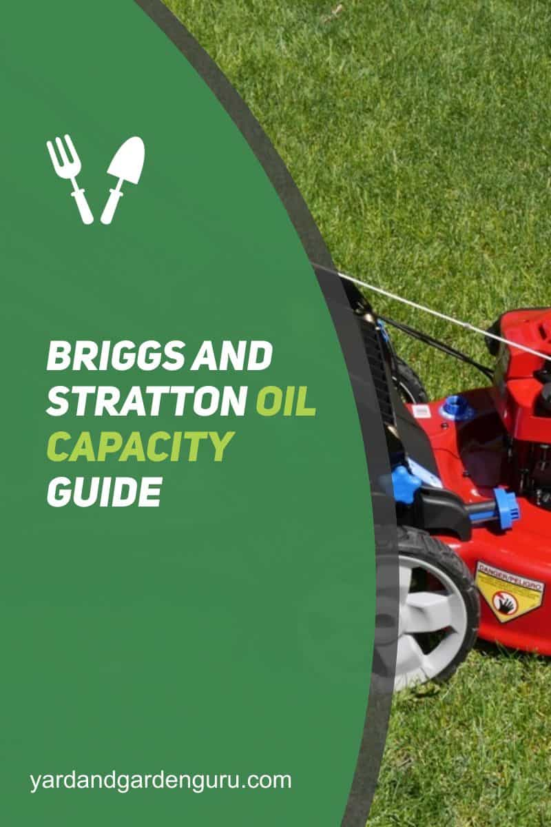 Briggs And Stratton Oil Capacity Guide